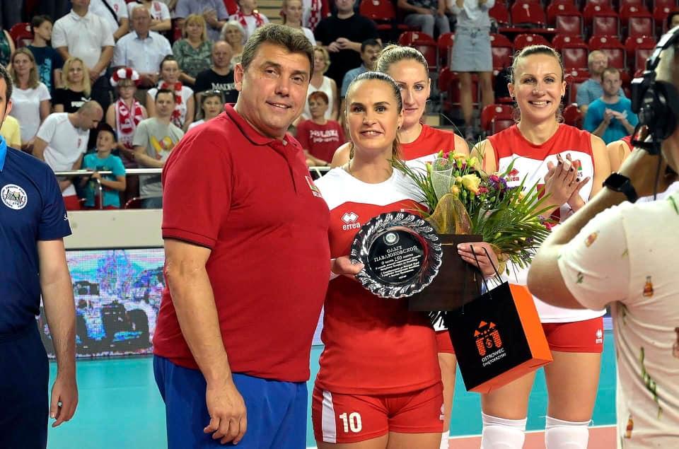 Olga Pawlikowskaja przed 150 meczem w reprezentacji Białorusi